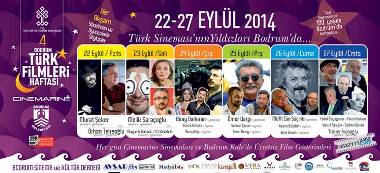 Bodrum Türk Filmleri Haftası Başlıyor!