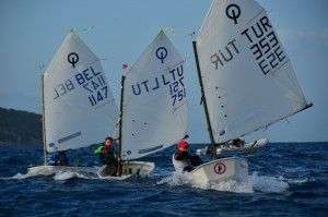 BODRUM INTERNATIONAL OPTIMIST REGATTA BAŞLADI…