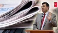 """Muğla Milletvekili Mürsel Alban """"Gazeteci Özgür Değilse Tüm Ülke Tutsaktır…"""""""