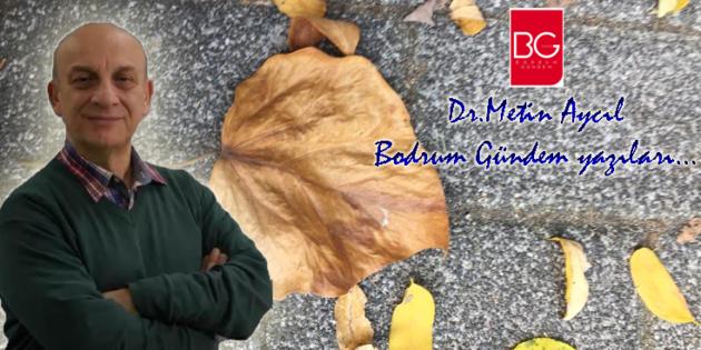 VAZGEÇMEMEK-1 / Dr.Metin Aycıl Bodrum Gündem yazıları…