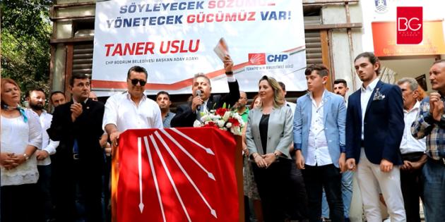 """""""Çare; Bodrum Belediye Başkan Adayı Taner Uslu'da…"""""""