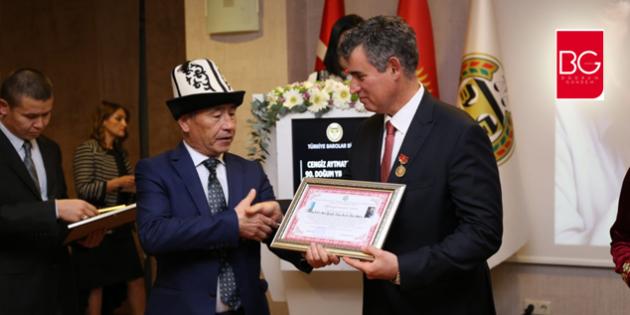 Feyzioğlu'na Cengiz Aytmatov Onur Ödülü Verildi…