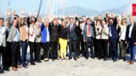 CHP'nin Bodrum Belediye Meclis Adayları Önce Gazetecilerin Karşısına Çıktı…