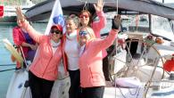 Bodrumlu Denizci Kadınlarımız da Samsun'a Ayak Bastılar