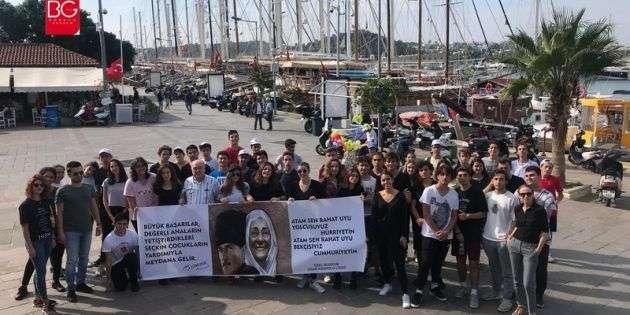 Uğur Anadolu Lisesi Öğrencileri Atatürk'ü Aradı…