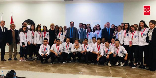 Uluslararası Yemek Yarışmalarında Dereceye Giren Öğrencilere Ödül Töreni…