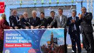 Muğla Büyükşehirden Bodrum'a Dev Alt Yapı Yatırımı (Video Haber)
