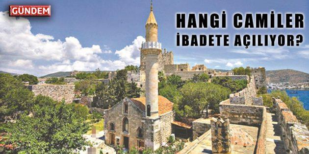 Bodrum'da Hangi Camilerde Namaz Kılınabilecek? İşte O Liste