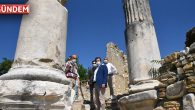Stratonikeia Antik Kentinde İncelemelerde Bulundu