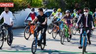 Bodrum Belediye Başkanı Mesaiye Bisiklet İle Gitti