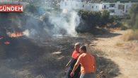 Bodrum Çırkan Mahallesinde Yangın