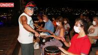 Bodrum'daki Sağlık Çalışanları Usta Sanatçı İle Ritim Tuttular