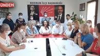 CHP Kadınları Haykırıyor ; İstanbul Sözleşmesi kalacak ! Siz gideceksiniz !
