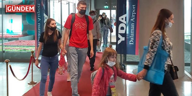 Rus Turistler Muğla'da