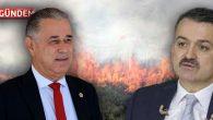 Bakan Pakdemirli'ye Selimiye-Kılavuz Yangınını Sordu?