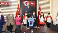 Muğla Ege Yıldızları Gençlik Ve Spor Kulübünden Vali Orhan Tavlı'ya Ziyaret