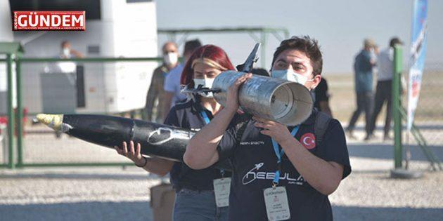 Gençlerin hayallerini ateşleyen Roket Yarışması'nın kazananları açıklandı