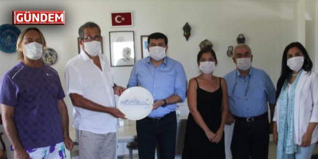 Seyfi Bozçelik Bodrum Sağlık Vakfını Ziyaret Etti