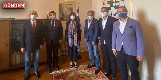 BODTO'dan Yunanistan İzmir Başkonsolosuna Ziyaret
