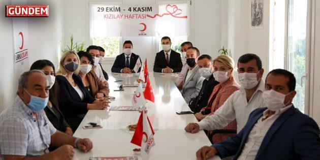 Bodrum'u Yönetenler Türkiye Kızılay Derneği Üyesi Oldu