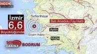 Bodrum'da Deprem – Son Dakika Bodrum !!!