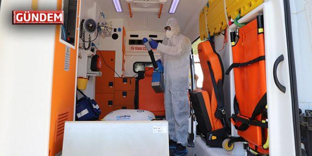Büyükşehir, Hasta Nakil Ambulanslarında Hijyeni Arttırdı
