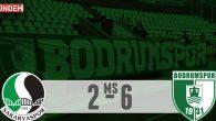 Bodrumspor'dan Deplasmanda Gol Yağmuru 6-2