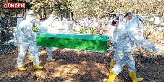 Korona Şüphelisi Songül Uğur Bodrum-Kumköy Mezarlığına Defnedildi